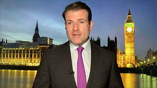 Euronews correspondent Tadhg Enright
