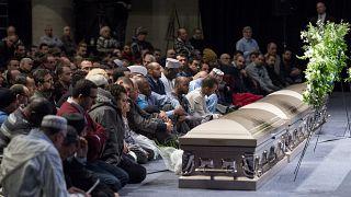 صورة من الارشيف- مجلس عزاء  لضحايا إطلاق النار - كيبيك