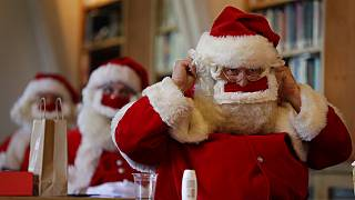 Santa's Grotto's in the UK are going virtual this Christmas, as the UK remains under tight coronavirus restrictions.