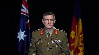 Chief of the Australian Defence Force Gen. Angus Campbell delivers the findings from the Inspector-General of the Australian Defence Force Afghanistan Inquiry, in Canberra, Th