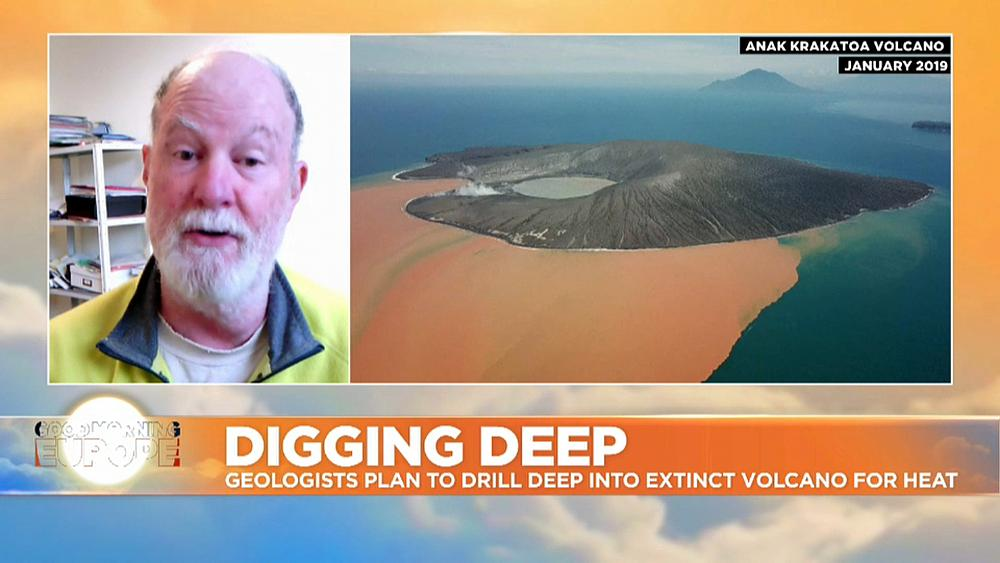 Geologists in New Zealand plan to drill deep into extinct volcano for clean energy