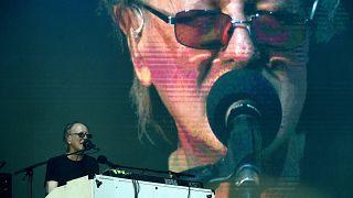 Balázs Fecó a Korál fennállásának 40. évfordulóján