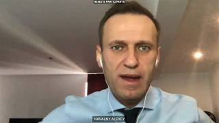 Russian opposition leader Alexei Navalny