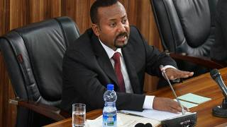 Abiy rules out dialogue with Tigray rebels in meeting with AU envoys