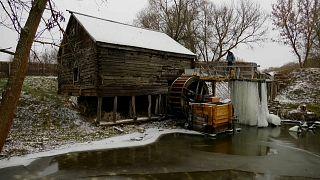 Водяная мельница в Красникове