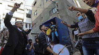 قطاع غزة زفاف