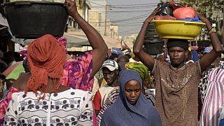 El mercado de Tilene, en Dakar, esta semana