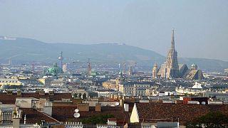 Wien mit Stephansdom.