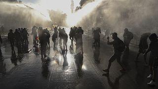 التشيلي: مظاهرات