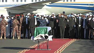 Remains of ex-Sudanese PM arrives in Khartoum
