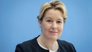 Bundesfamilienministerin und neue Co-Vorsitzende der Berliner SPD, Franziska Giffey