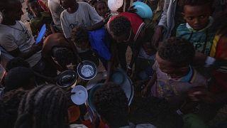 Помочь эфиопским беженцам в Судане