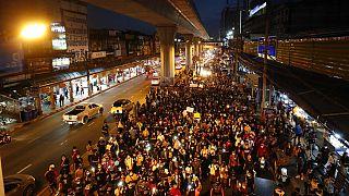 Tüntetés Thaiföldön