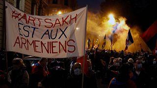 تظاهرات ارمنیهای فرانسه