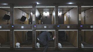Los hoteles cápsula se transforman en oficinas cápsula