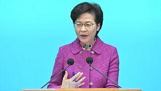 Hong Kong Baş Yöneticisi Carrie Lam