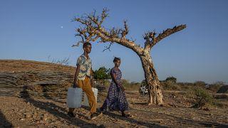 Refugiados etíopes no Sudão