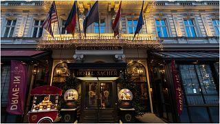 الفندق في فيينا