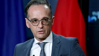 In this Monday, Oct. 26, 2020 file photo German Foreign Minister Heiko Maas