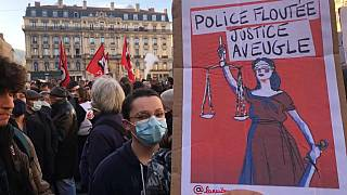 Protest in Lyon