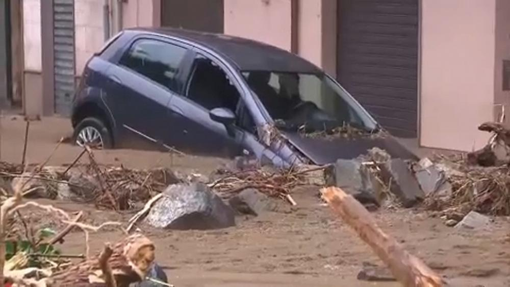 Inondations meurtrières en Sardaigne, la ville de Bitti dévastée par une coulée de boue