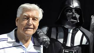 David Prowse bei einer Star Wars Convention (27.04.2017)