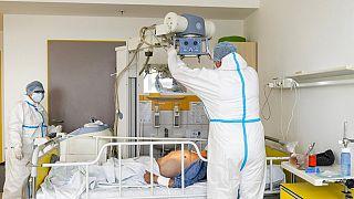 Vizsgálat a nyíregyházi kórházban