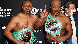 Retour sur le ring réussi pour Mike Tyson, après 15 ans d'absence