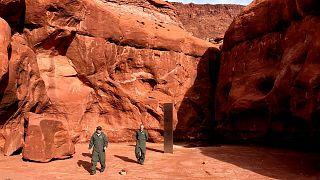 شیٔ مرموز در صحرای سرخ یوتا