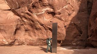ABD'de bulunan 'gizemli' monolit kayboldu