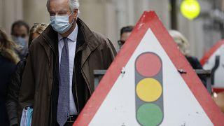 El negociador europeo, Michel Barnier, en Londres