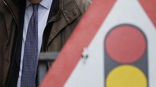 Noch stehen die Zeichen nicht auf Rot: Barnier verhandelt in London