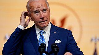 Joe Biden en Wilmington, el pasado 25 de noviembre