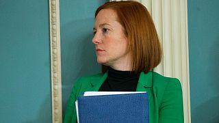 جين ساكي مديرة الاتّصالات في البيت الأبيض في ظلّ إدارة الرئيس السابق باراك أوباما
