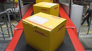 Paketabfertigung