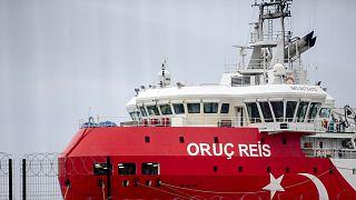 AB'den Antalya Limanı'na dönen Oruç Reis araştırma gemisi hakkında açıklama