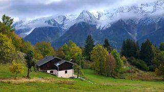 Imagen de los Alpes franceses