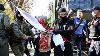 Belarus gözaltı