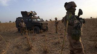 Mali'de Fransız askerleri