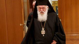 Φωτογραφία αρχείου, Αρχιεπίσκοπος Ιερώνυμος