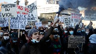 Fransa'da güvenlik yasasına karşı eylemler