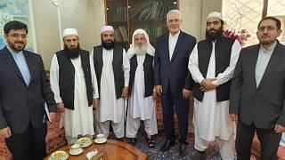 دیدار هیاتی از طالبان با سفیر جدید ایران در دوحه