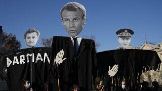 Társadalmi nyomásra írják át a francia nemzetbiztonsági törvényt