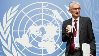 مارك لوكوك مساعد الأمين العام للأمم المتحدة للشؤون الإنسانية والإغاثة