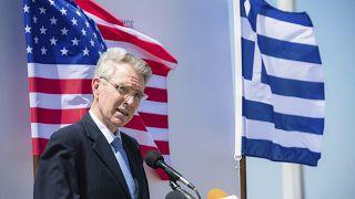 ABD'nin Atina Büyükelçisi Geoffrey Pyatt