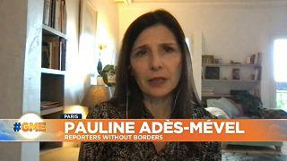 Pauline Adès-Mével, editor-in-chief, Reporters sans frontières