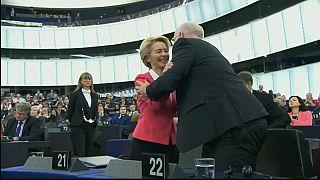 Von der Leyen cumple su primer año al frente de la Comisión en un contexto sin precedentes