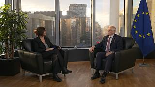 European Union foreign policy chief Josep Borrell interview with Euronews.