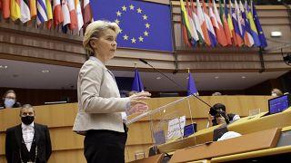 رئيسة المفوضية الأوروبية أورسولا فون ديرلاين