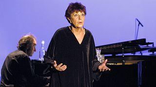 Anne Sylvestre, le 4 novembre 2004 à Paris